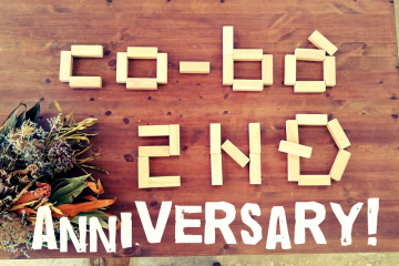 co-ba koriyama 2nd anniversary!